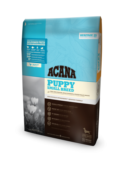 Acana Puppy, Small-Breed, Heritage, getreidefrei