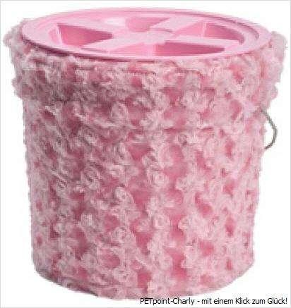 Futterbox, pink, 25x24cm, 4 kg-Fassungsvermögen