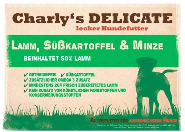 Charly's Delicate | mit Lamm, Süßkartoffel & Minze | getreidefrei