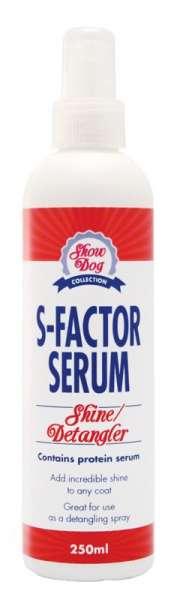 Show Dog S Factor Serum | für Glanz & Entfilzung