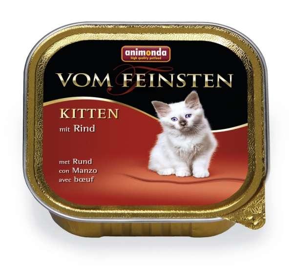 Animonda Vom Feinsten Kitten | mit Rind | 6x100g