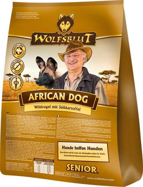 Wolfsblut African Dog Senior | getreidefreies Hundefutter
