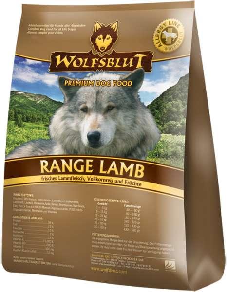 Wolfsblut Range-Lamb | mit Lamm & Reis | getreidefreies Hundefutter
