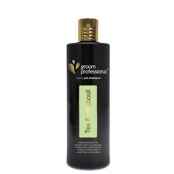 Groom Professional Exclusive   Tea & Patchouli Shampoo