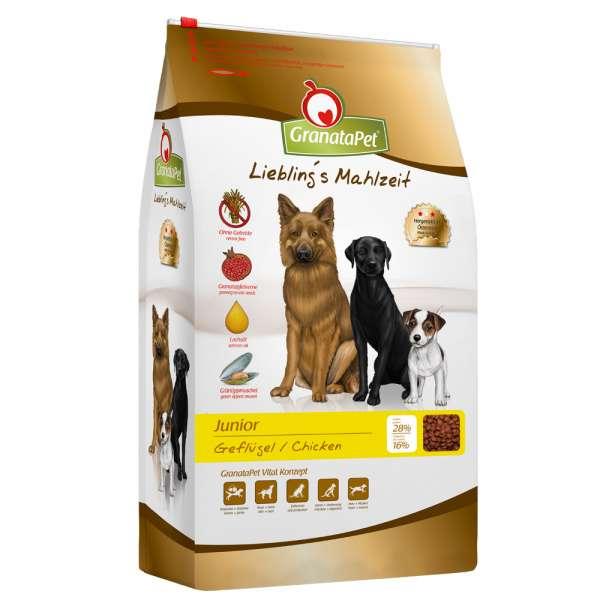 GranataPet Junior Dog | mit Geflügel | Liebling's Mahlzeit