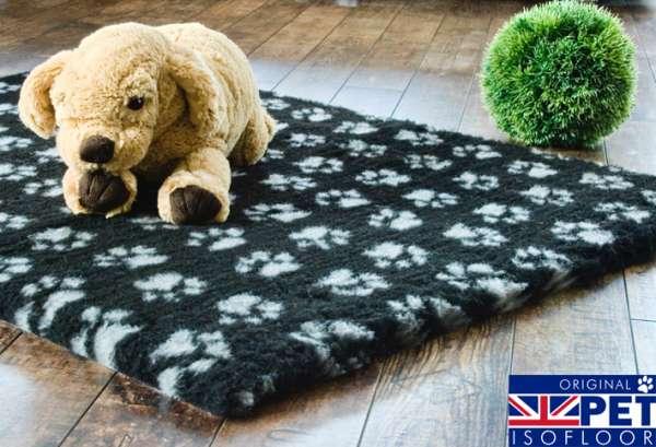 Pet Isofloor SX | schwarz-grauer Hundeteppich