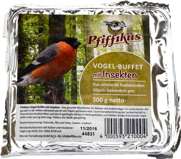 Pfiffikus Vogelbuffet mit Insekten | Vogelfutter