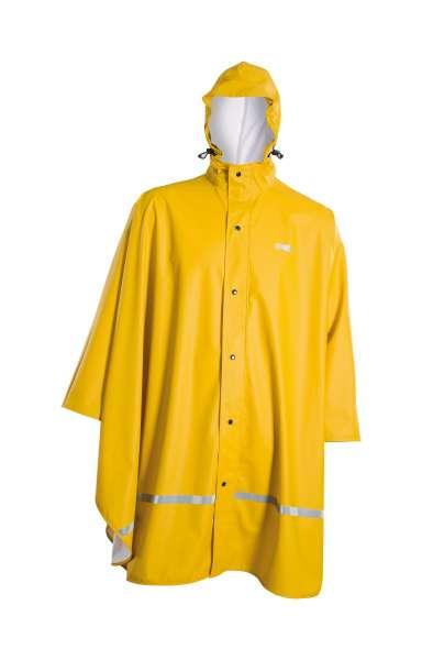 Owney Poncho | Regen-Poncho | gelb