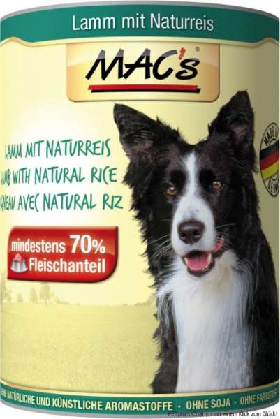 MACs Adult Dog, Lamm & Naturreis