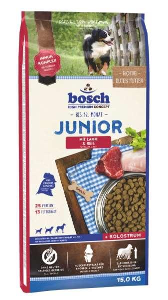 Bosch Junior | mit Lamm & Reis | 15 kg