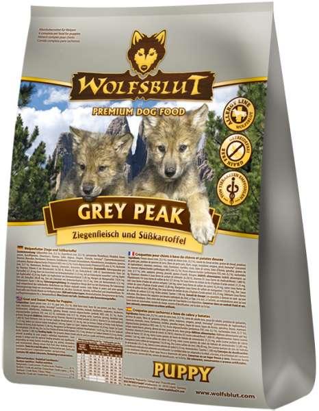 Wolfsblut Grey-Peak Puppy | mit Ziege & Süßkartoffeln