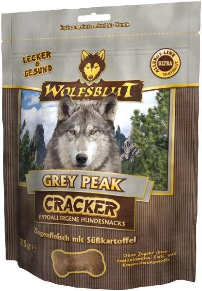 Wolfsblut Grey Peak Hundesnack Cracker, mit Ziegenfleisch, 225g
