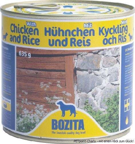 Bozita Huhn & Reis, 6x635g