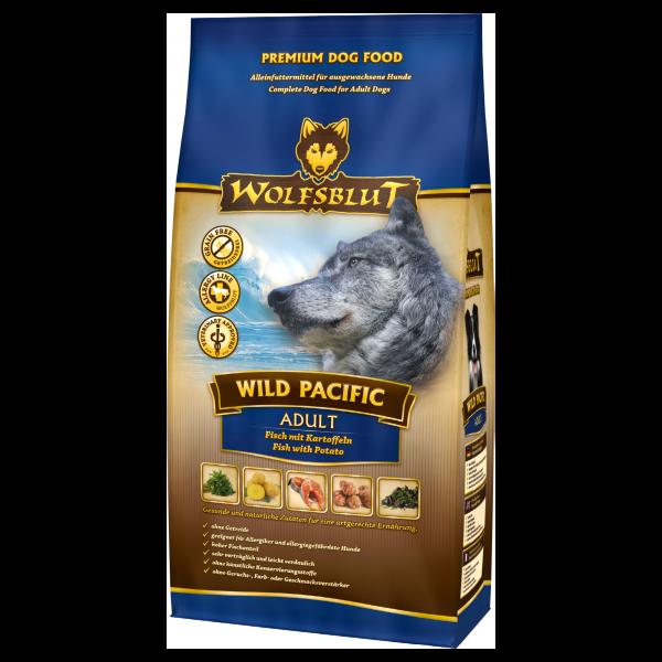 Wolfsblut Wild-Pacific | mit Seefisch & Kartoffeln | getreidefrei