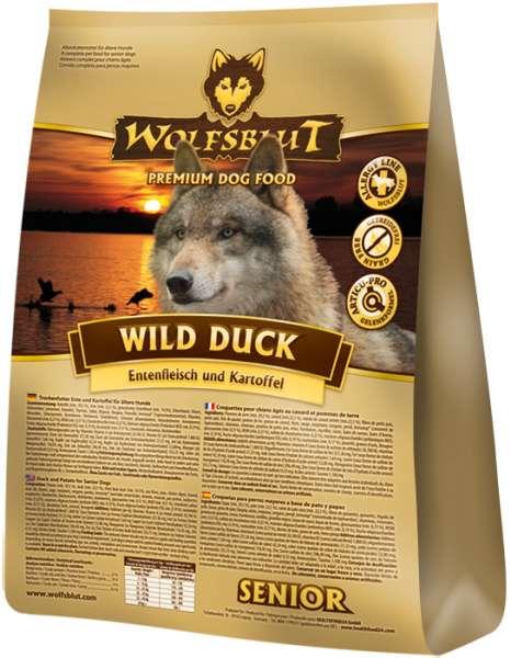 Wolfsblut Wild-Duck Senior | mit Kartoffeln & Ente