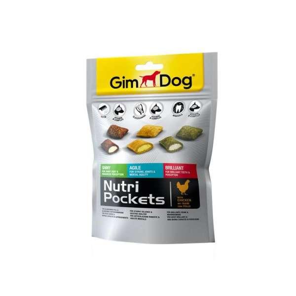 Gimborn Gimdog Nutri Pockets | Mix | 150g Hundesnack