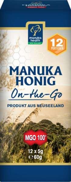 Manuka-Health Manukahonig to-go   MGO 100+   12x5g