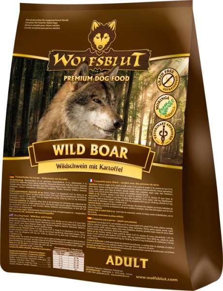 Wolfsblut Wild Boar   getreidefreies Hundefutter   Wildschwein mit Kartoffel
