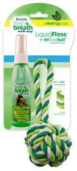 Tropiclean Fresh Breath Liquid Floss, 125ml