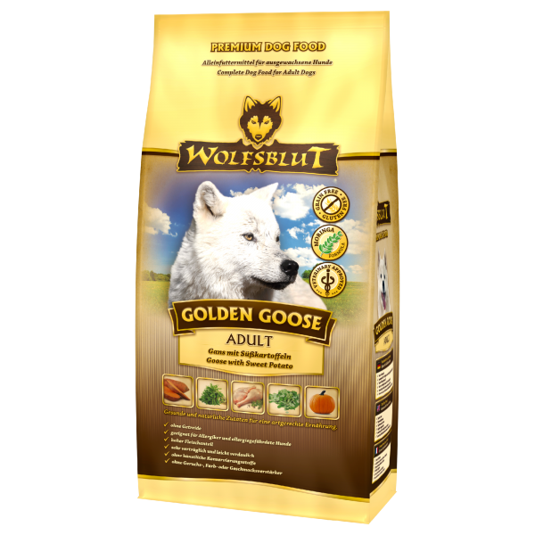 Wolfsblut Golden Goose | mit Gans und Süßkartoffeln
