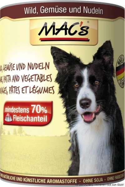 MACs Adult Dog, Wild, Gemüse & Nudeln