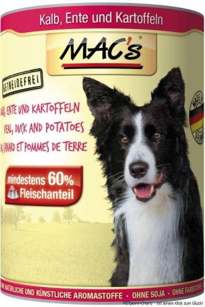 MACs Adult Dog, Kalb, Ente & Kartoffeln