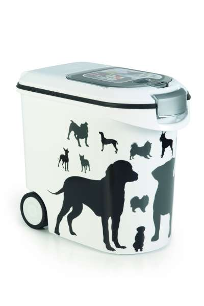 Container Silhouette Dog, 35 Liter