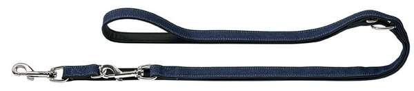 Führleine Jeans, verstellbar