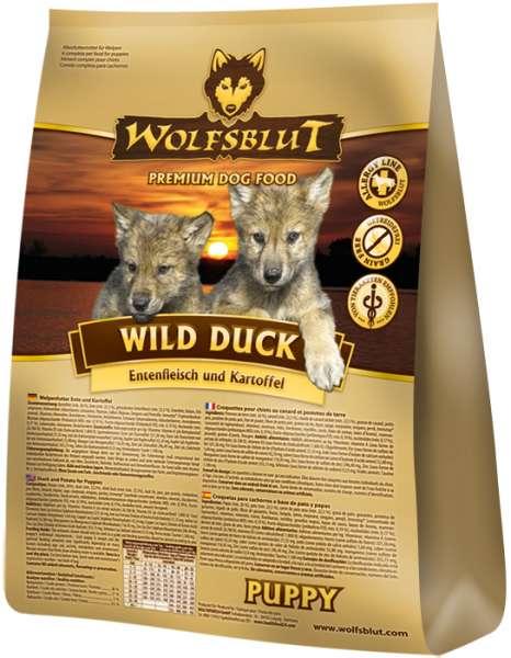 Wolfsblut Wild-Duck Puppy | mit Kartoffeln & Ente