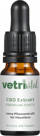 Vetrivital CBD Extrakt Premium Forte | für Hunde