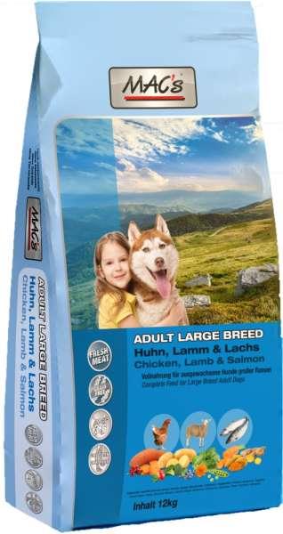 MACs Adult Large-Breed | mit Huhn & Lamm