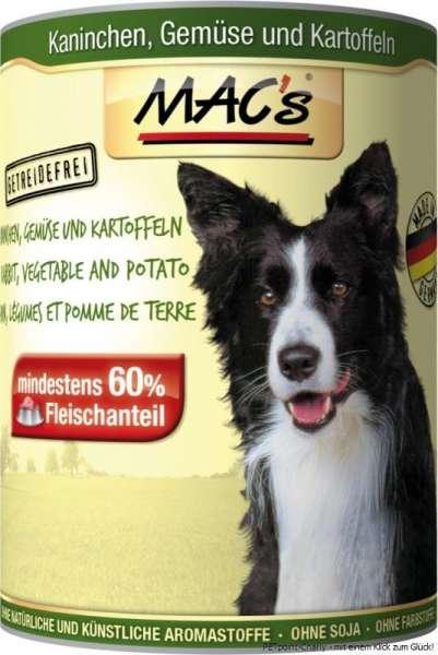 MACs Adult Dog, Kaninchen, Gemüse & Kartoffeln