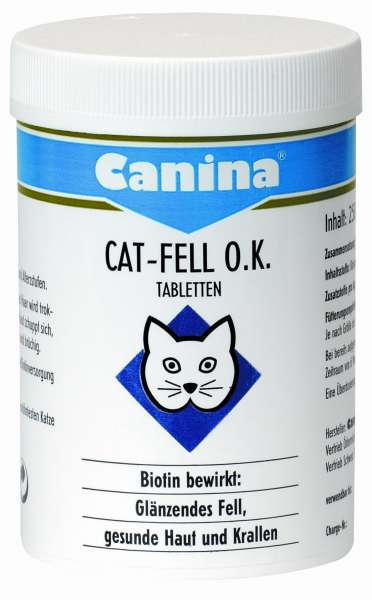 Canina Cat-Fell O.K. Tabletten