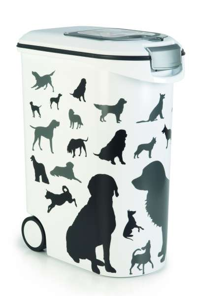Container Silhouette Dog, 54 Liter