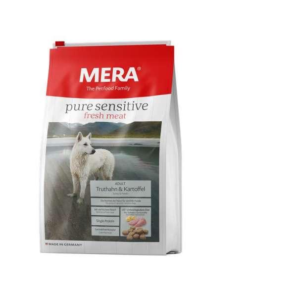 MeraDog Pure Adult | Sensitive Fresh Meat | mit Truthahn & Kartoffeln