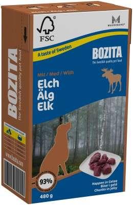 Bozita Häppchen in Gelee Elch, 6x480g