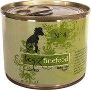 dogz-finefood No 4 Huhn & Fasan