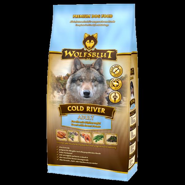 Wolfsblut Cold-River | mit Süßkartoffel & Forelle
