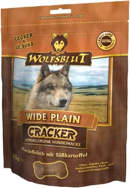 Wolfsblut wide Plain Hundesnack Cracker, mit Pferdefleisch, 225g