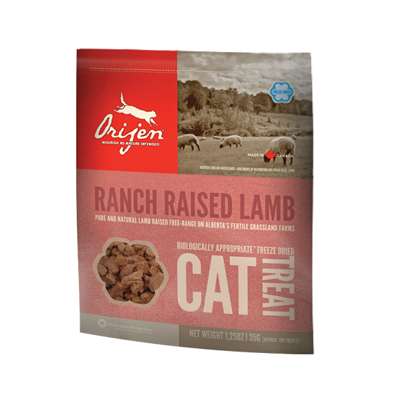Orijen Cat Ranch Raised Lamb, Katzensnack, 35g