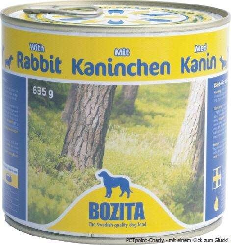 Bozita Kaninchen, 6x635g