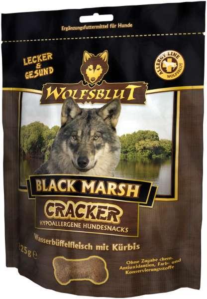 Wolfsblut Black Marsh Hundesnack Cracker, mit Wasserbüffelfleisch, 225g