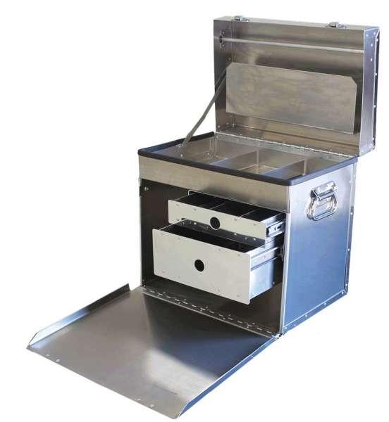 D-Flite 400 Deluxe Box, mit 2 Schubladen