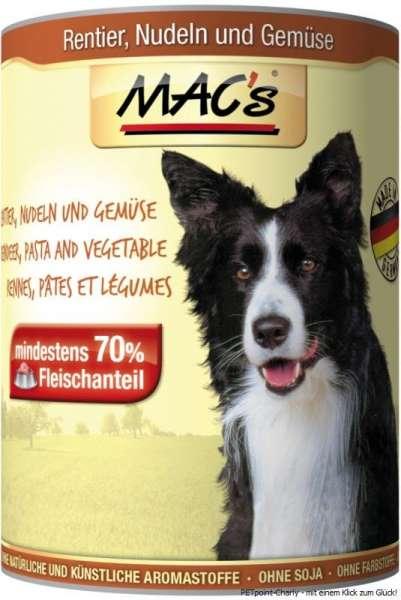 MACs Adult Dog, Rentier, Nudeln & Gemüse