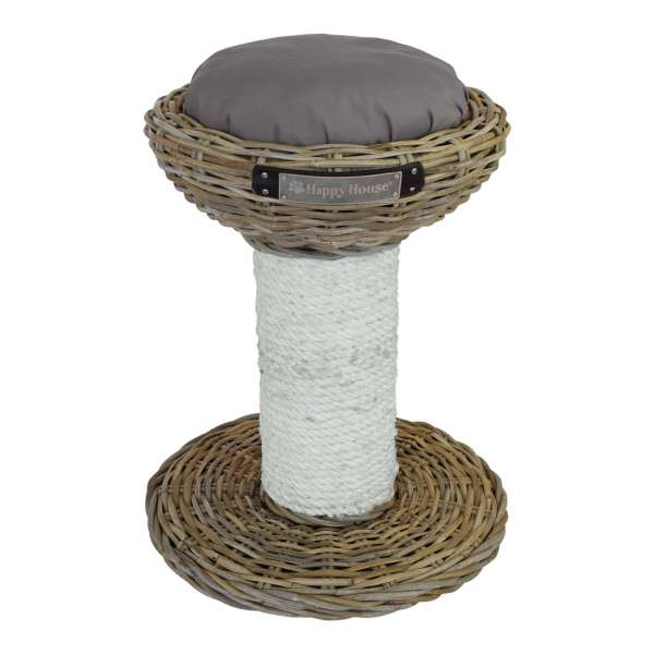Happy-House Scratching Post | Kratzbaum & Liegeplatz | 40x55cm