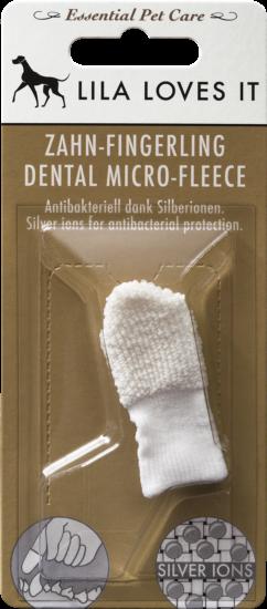LILA LOVES IT Zahn Fingerling | Dental Micro-Fleece