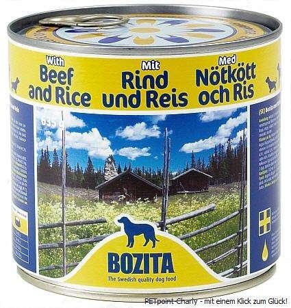 Bozita Rind & Reis, 6x635g