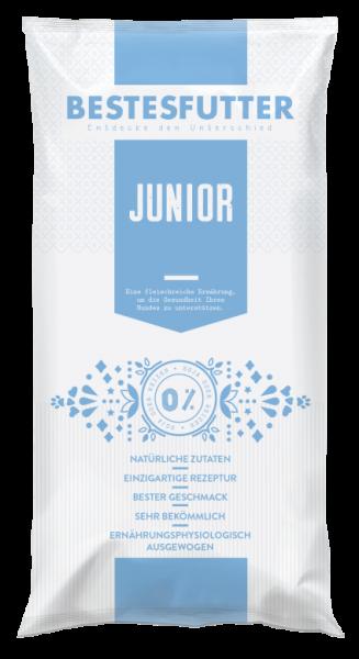 Bestesfutter Junior | mit Ente & Wildbret | weizenfreies Hundefutter