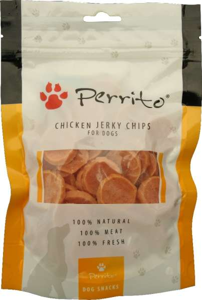 Perrito Hundesnack, Chicken Chips, 100g