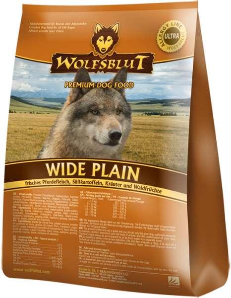 Wolfsblut Wide-Plain | mit Pferdefleisch & Süßkartoffel | getreidefreies Hundefutter